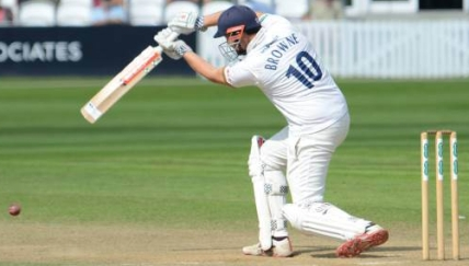 CC Essex (H) Aug 2018 Day 3 Nick Browne Copyright Mike Williams