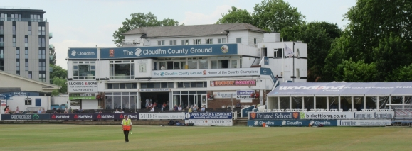 IMG_1057 Pavilion at Chelmsford. Final Day 2018.