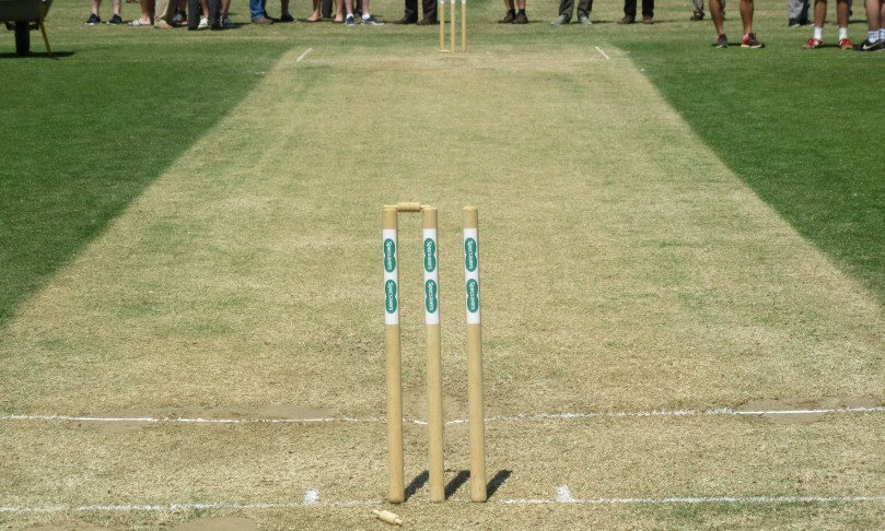 The pitch at Guildford. Lunch Day 2. Cropped.