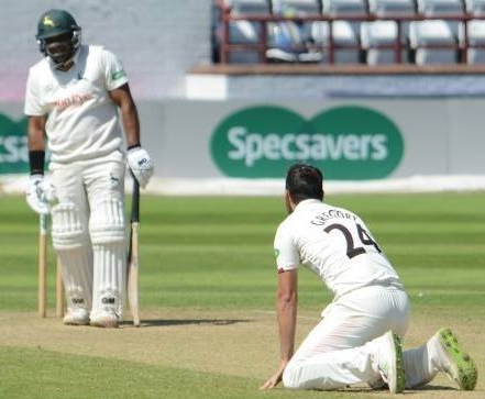 Day 3 Copyright Mike Williams Samit Patel off Lewis Gregory