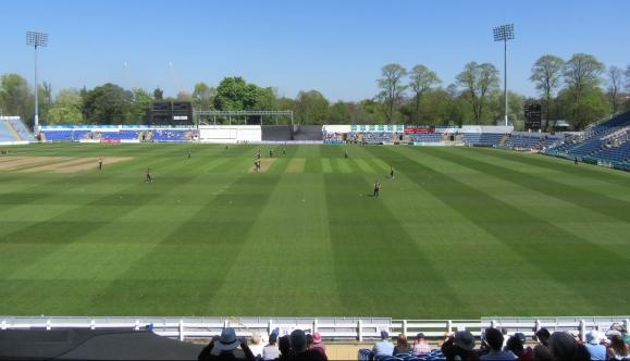 IMG_1193 RLODC 50-over Glam v Som 210419 Sophia Gardens in the Somerset innings