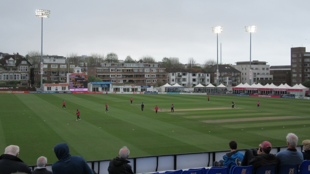IMG_1212 RLODC 50-Over Sussex v Som 240419 View from Author's seat Pavilion