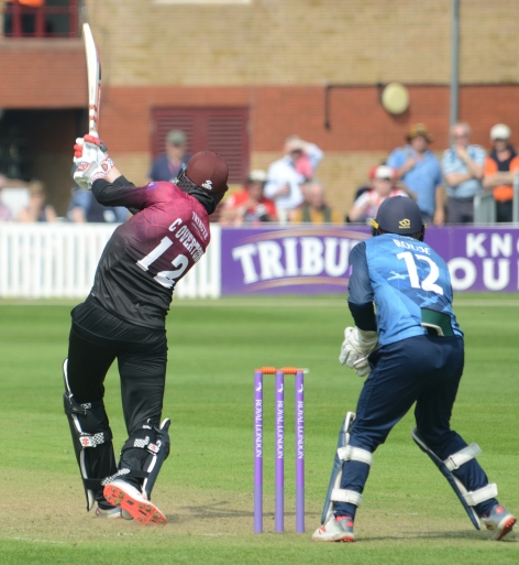 RLODC 190419 v Kent Craig Overton 6 runs (C) M Williams