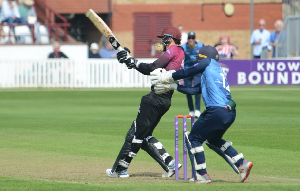 RLODC 190419 v Kent Tom Banton 4 runs (C) M Williams