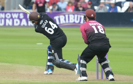 RLODC 50-over Som v Surrey 070519 Dean Elgar 6 runs (C) M Williams